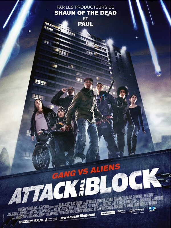 Affiche française de 'Attack the Block'