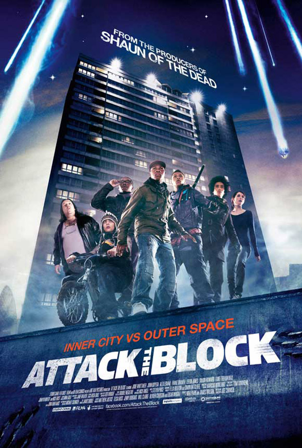 Affiche américaine de 'Attack the Block'