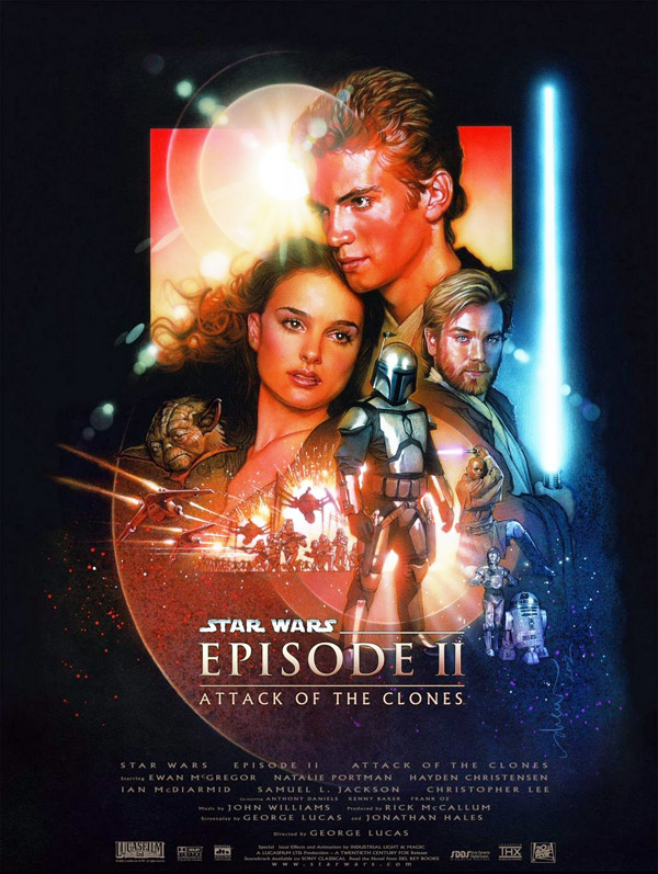 Us poster from the movie Star Wars: Episode II - Attack of the Clones