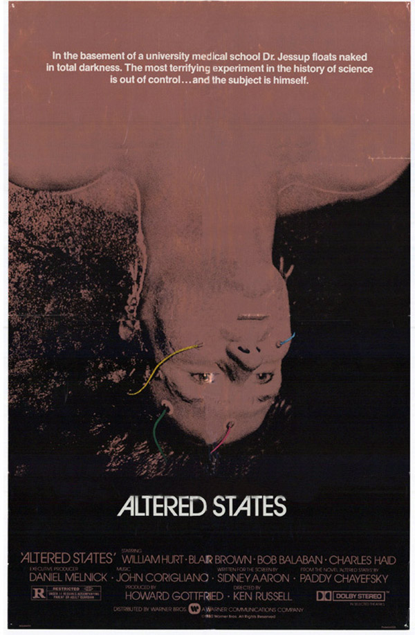 Us poster from the movie Altered States