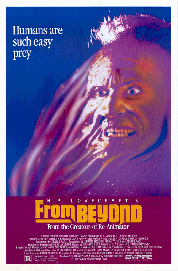 Us poster from the movie From Beyond