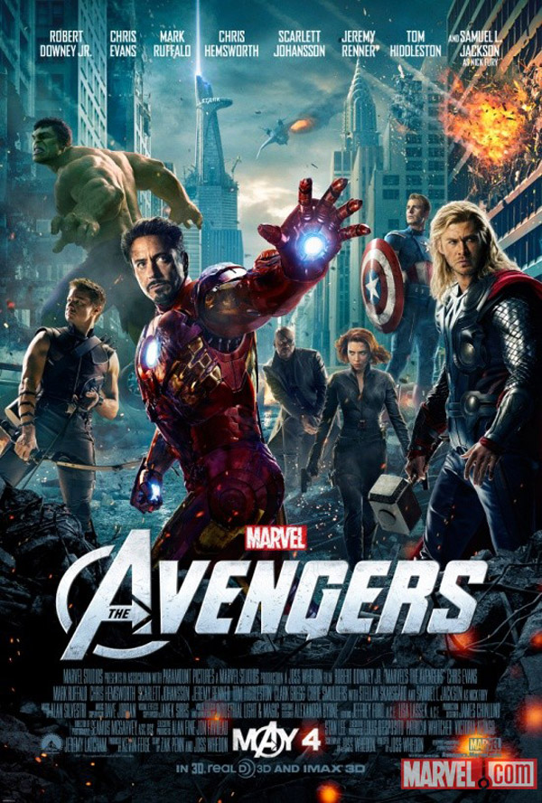 Us poster from the movie The Avengers