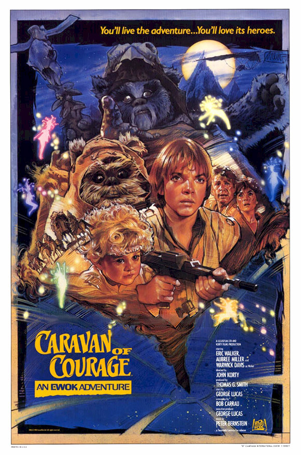 Us poster from the TV movie The Ewok Adventure