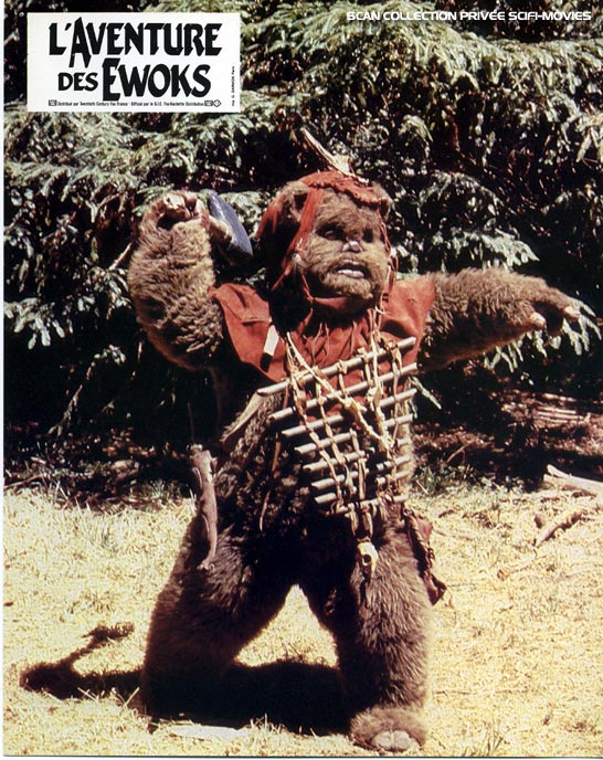 Photo de 'L'aventure des Ewoks' - ©1984 Lucasfilm Ltd. - L'aventure des Ewoks (The Ewok Adventure) - cliquez sur la photo pour la fermer