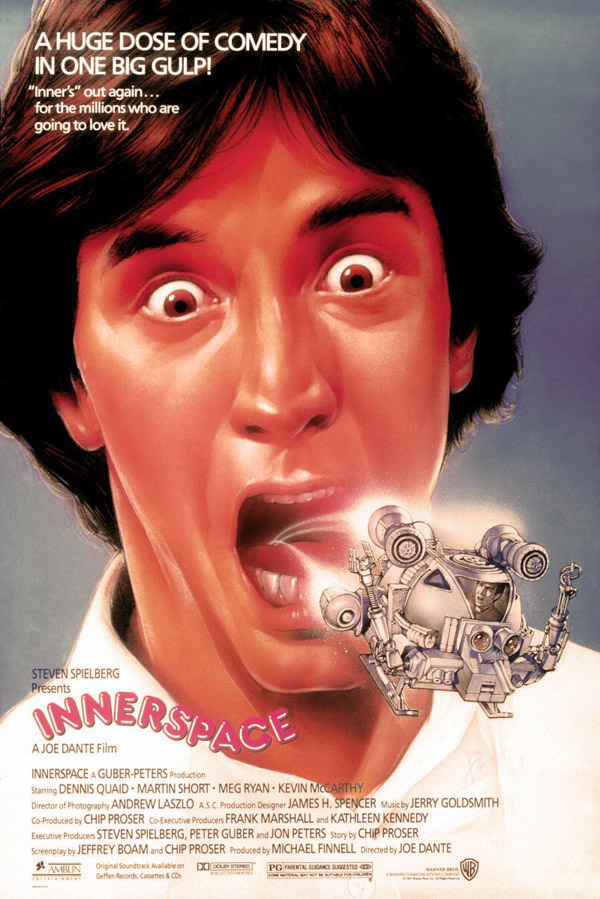Innerspace (1987) movie poster #13 - SciFi-Movies