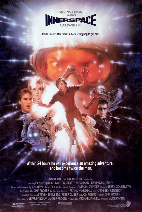 Us poster from the movie Innerspace