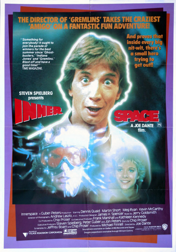 Innerspace (1987) movie poster #8 - SciFi-Movies