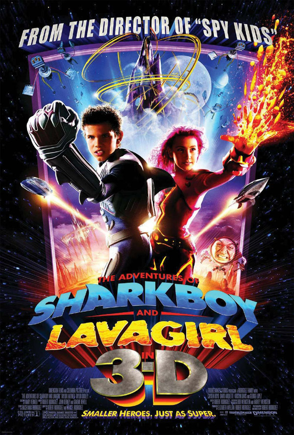 Us poster from the movie The Adventures of Sharkboy and Lavagirl 3-D