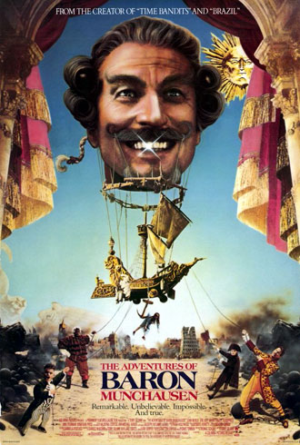 Us poster from the movie The Adventures of Baron Munchausen