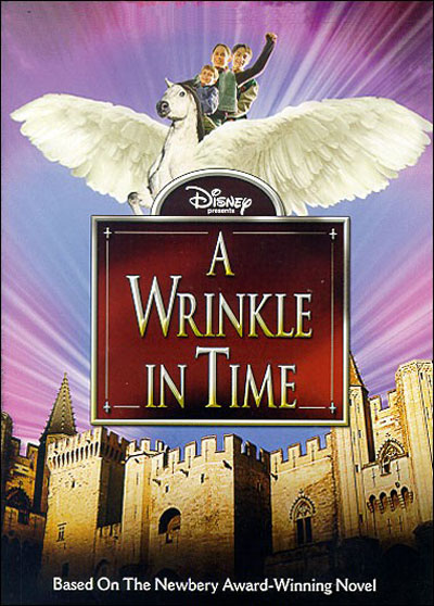French poster from the TV movie A Wrinkle in Time