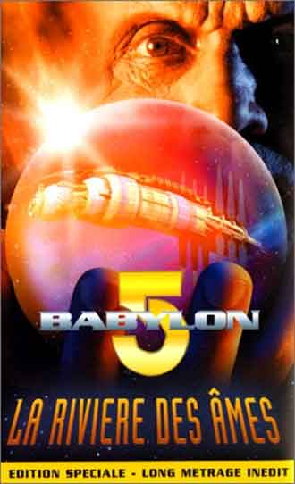 French poster from the TV movie Babylon 5: The River of Souls