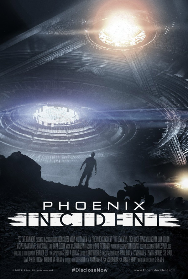 Us poster from the movie The Phoenix Incident