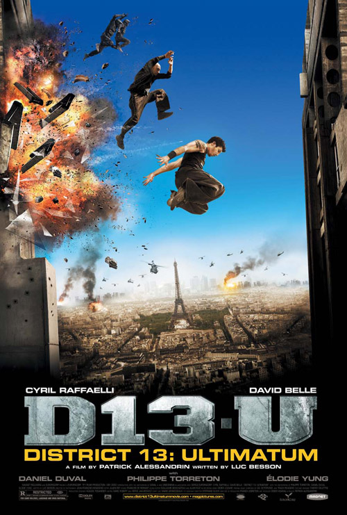 Us poster from the movie District 13: Ultimatum (Banlieue 13 - Ultimatum)