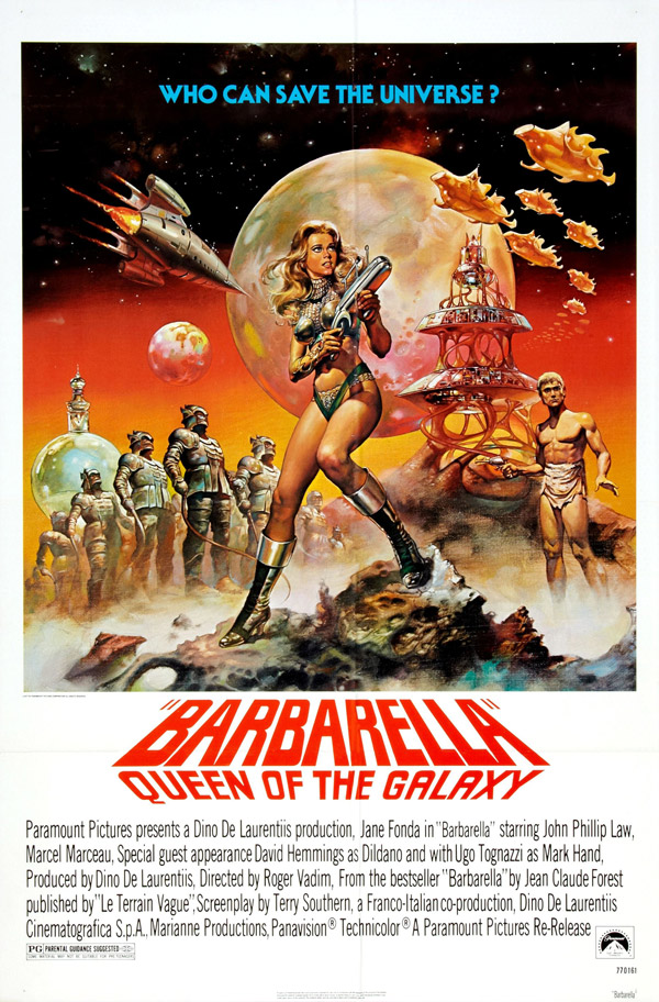 Us poster from the movie Barbarella