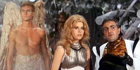 Barbarella meets the Great Tyrant - Barbarella