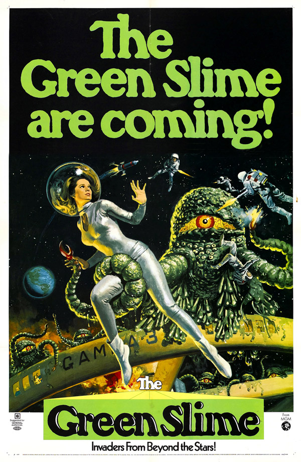 Us poster from the movie The Green Slime