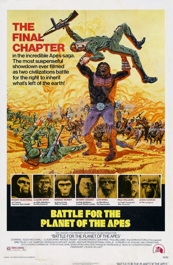 Us poster from the movie Battle for the Planet of the Apes