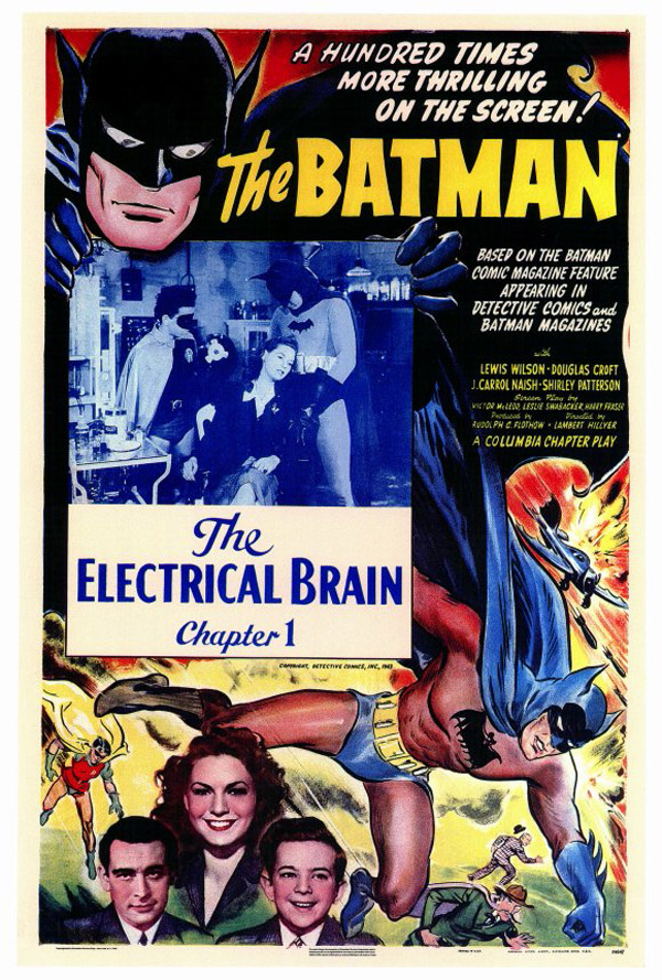 Us poster from the series Batman