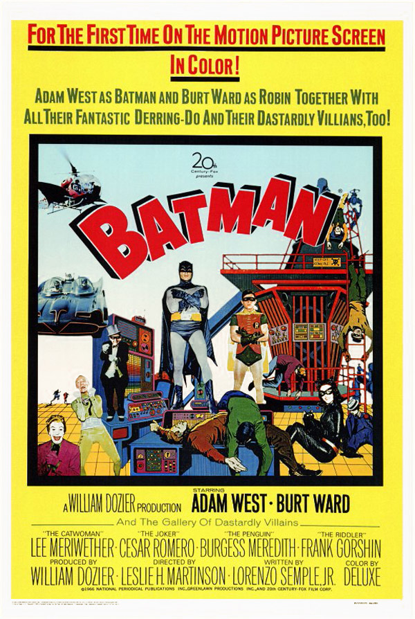 Us poster from the movie Batman