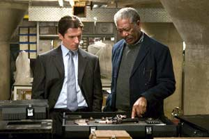 Bruce Wayne et Lucius Fox - Batman Begins