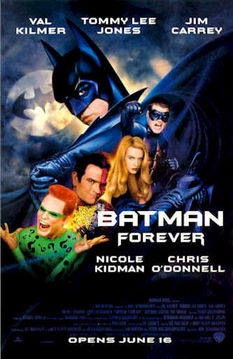 Us poster from the movie Batman Forever