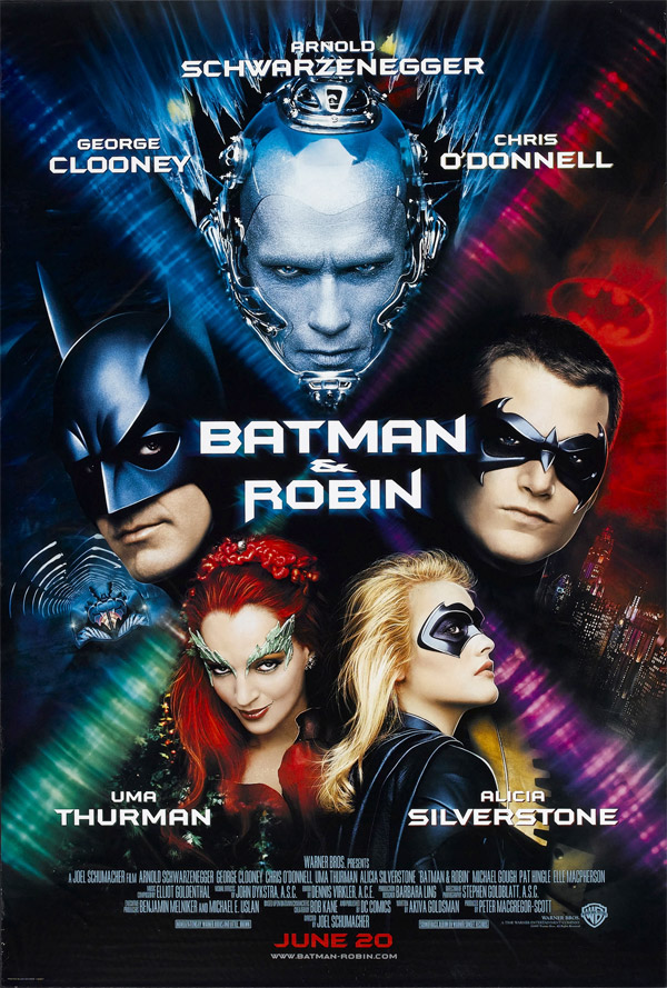Us poster from the movie Batman & Robin