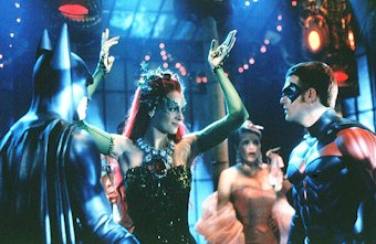 Batmen and Robin meet the beautiful and dangerous Poison Ivy - Batman & Robin