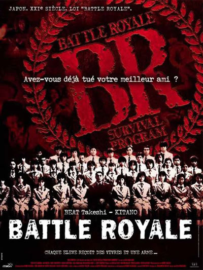 Affiche française de 'Battle Royale'
