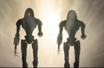 The Cylons were made by Man - Battlestar Galactica