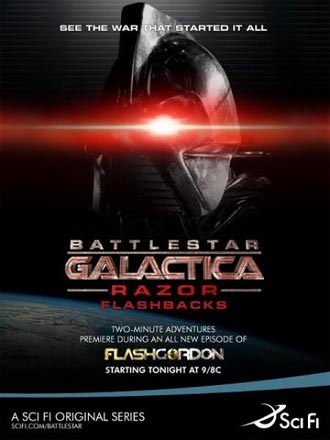 Battlestar galactica movie razor