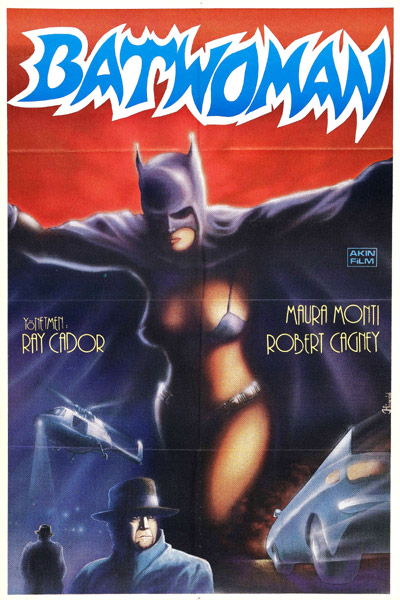 Unknown poster from the movie The Batwoman (La mujer murciélago)