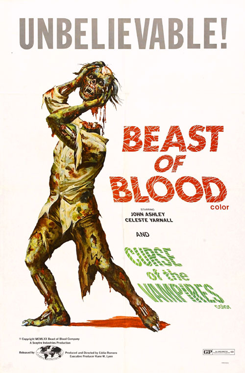 Us poster from the movie Beast of Blood