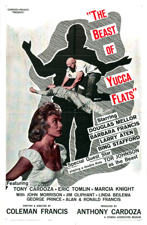 Us poster from the movie The Beast of Yucca Flats