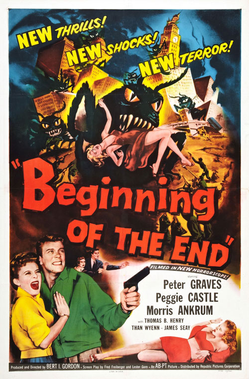 Us poster from the movie Beginning of the End