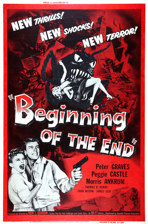 Affiche inconnue de 'Beginning of the End'
