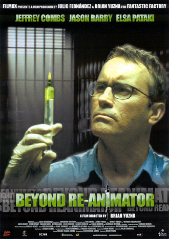 Us poster from the movie Beyond Re-Animator