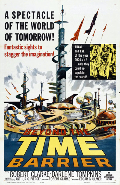 Us poster from the movie Beyond the Time Barrier