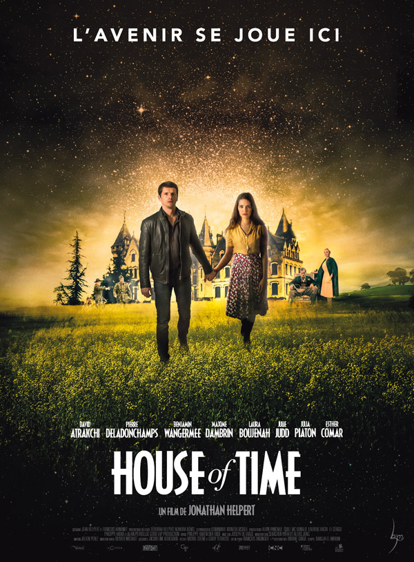 French poster from the movie House of Time
