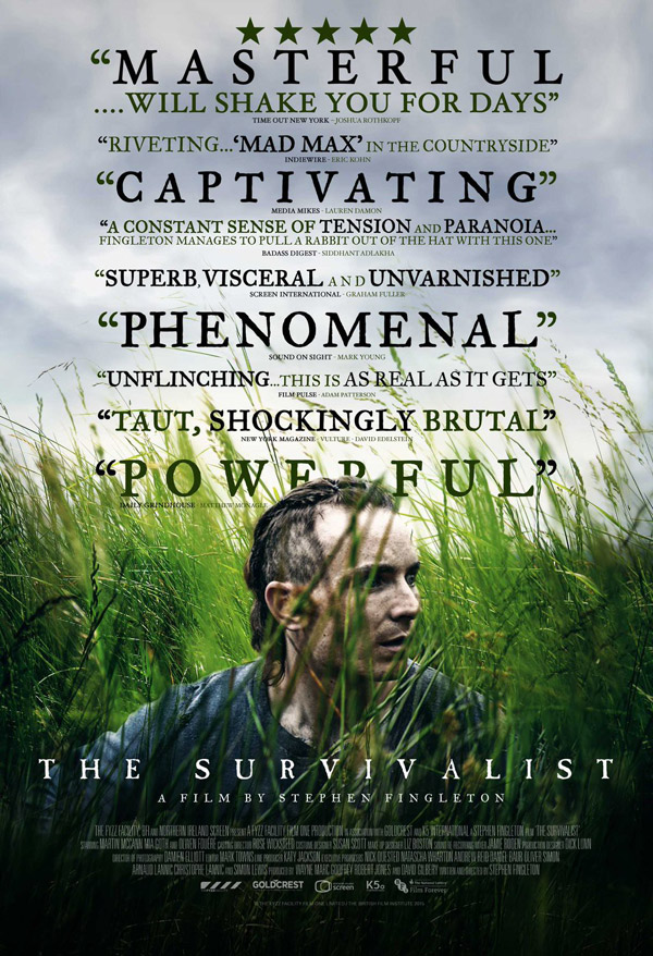 British poster from the movie The Survivalist