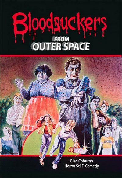 Unknown artwork from the movie Blood Suckers from Outer Space