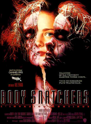 Affiche française de 'Body Snatchers'