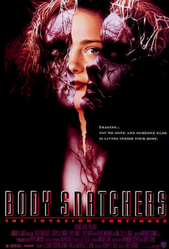 Us poster from the movie Body Snatchers