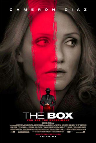 Affiche américaine de 'The Box'