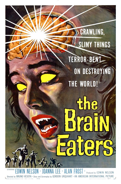 Us poster from the movie The Brain Eaters