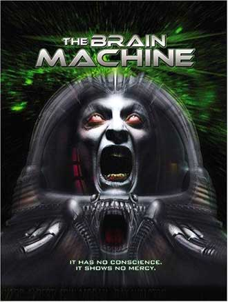 French poster from the movie The Brain Machine