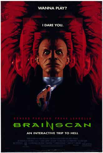 Us poster from the movie Brainscan