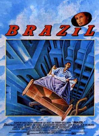 Image result for affiche francaise du film brazil