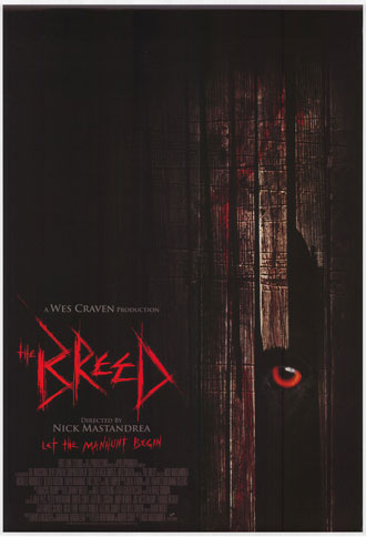Us poster from the movie The Breed