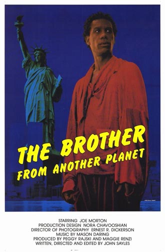 Affiche américaine de 'The Brother from Another Planet'