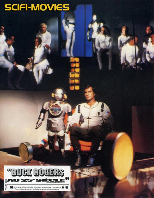 Photo de 'Buck Rogers au 25ème siècle' - Scan scifi-movies - Buck Rogers au 25ème siècle (Buck Rogers in the 25th Century) - cliquez sur la photo pour la fermer
